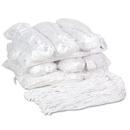 UNISAN BWK220RCT Premium Cut-End Wet Mop Heads, Rayon, 20oz, White, 12/carton