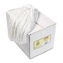 Boardwalk BWK224RCT Premium Cut-End Wet Mop Heads, Rayon, 24oz, White, 12/Carton