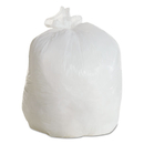 Boardwalk H6036HWKR01 LD Can Liners, 20-30gal, .60mil, 30w x 36h, White, 25/Roll, 8 Rolls/CT