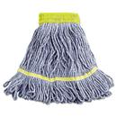 Boardwalk BWK501BL Super Loop Wet Mop Heads, Cotton/Synthetic, Small Size, Blue