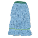 Boardwalk BWK502BLNBCT Super Loop Wet Mop Head, Cotton/Synthetic Fiber, Medium, Blue, 12/Ct