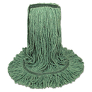 Boardwalk BWK502GNNB Mop Head, Premium Standard Head, Cotton/Rayon Fiber, Medium, Green