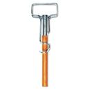 Boardwalk BWK609 Spring Grip Metal Head Mop Handle for Most Mop Heads, 60