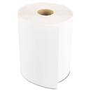 LAGASSE, INC. BWK6250 Hardwound Paper Towels, Nonperforated 1-Ply White, 350ft, 12 Rolls/carton