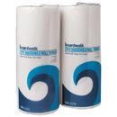Boardwalk BWK6277 Boardwalk Green Household Roll Towels, 2-Ply, White, 9 x 11, 100/RL, 30 Rolls/CT