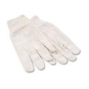 Boardwalk BWK7 8oz Cotton Canvas Gloves, Large, 12 Pairs