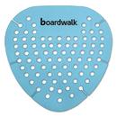 Boardwalk BWKGEMCBL Gem Urinal Screen, Lasts 30 Days, Blue, Cotton Blossom Fragrance, 12/Box