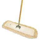 Boardwalk BWKM245C Cut-End Dust Mop Kit, 24 x 5, 60