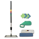 Boardwalk BWKMFKIT Microfiber Mopping Kit, 18