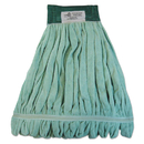 Boardwalk BWKMWTMG Microfiber Looped-End Wet Mop Head, Medium, Green