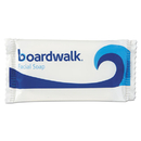 Boardwalk BWKNO34SOAP Face and Body Soap, Flow Wrapped, Floral Fragrance, # 3/4 Bar, 1000/Carton
