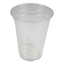 Boardwalk PET16 Clear Plastic Cold Cups, 16 oz, PET, 1000/Carton