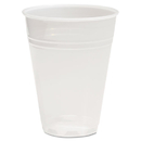Boardwalk BWKTRANSCUP7PK Translucent Plastic Cold Cups, 7oz, 100/pack