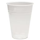 Boardwalk BWKTRANSCUP9PK Translucent Plastic Cold Cups, 9oz, 100/pack