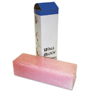 Boardwalk BWKW24 Deodorizing Para Wall Blocks, 24oz, Pink, Cherry, 6/Box