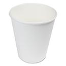 Boardwalk WHT8HCUP Paper Hot Cups, 8 oz, White, 1000/Carton