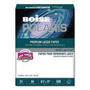 BOISE CASCADE PAPER CASBPL0111 Polaris Premium Laser Paper, 97 Bright, 24lb, 8 1/2 X 11, White. 500 Sheets