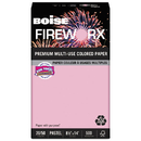 Boise CASMP2204PK Fireworx Colored Paper, 20lb, 8-1/2 X 14, Powder Pink, 500 Sheets/ream