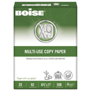 Boise CASOX9001JR X-9 Multi-Use Copy Paper, 92 Bright, 20lb, 8-1/2 X 11, White, 2500 Sheets/carton