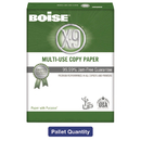 Boise CASOX9001PLT X-9 Multi-Use Copy Paper, 92 Bright, 20lb, 8-1/2 X 11, 200000 Sheets