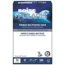 Boise CASPOL1117 Polaris Premium Multipurpose Paper, 11 X 17, 20lb, White, 2500/ct