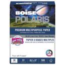 Boise CASPOL2811 Polaris Premium Multipurpose Paper, 8 1/2 X 11, 28lb, White, 3000 Sheets/carton