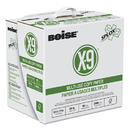 BOISE CASCADE PAPER CASSP8420P X-9 Splox Multi-Use Copy Paper, 3-Hole, 92 Bright, 20lb, 8.5x11, White, 2500/ct