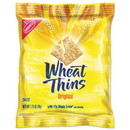 Nabisco 00 19320 00798 00 Wheat Thins Crackers, Original, 1.75 oz Bag, 72/Carton
