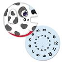 Carson Dellosa Education 120229 EZ-Spin, Multiplication Game, Grades 3-5, 18/Pack
