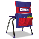 Carson-Dellosa Publishing CDPCD158035 Chairback Buddy Pocket Chart, 12 X 22 1/2, Blue/red