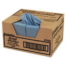 CHICOPEE 8700 VeraClean Critical Cleaning Wipes, Smooth Texture, 1/4 Fold, 12 x 13, Blue, 400/Carton