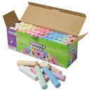 THE CHENILLE KRAFT COMPANY CKC1752 Sidewalk Chalk, 4 X1 Dia. Jumbo Stick, 12 Assorted Colors, 52 Pieces/each Case