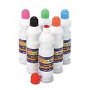 THE CHENILLE KRAFT COMPANY CKC2400 Sponge Paint Set, 6 Assorted Colors, 2.2 Oz, 6/set