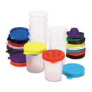 THE CHENILLE KRAFT COMPANY CKC5100 No-Spill Paint Cups, 10/set