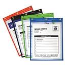 C-Line 50920 Heavy-Duty Super Heavyweight Plus Stitched Shop Ticket Holders, Asst, 9x12, 20/BX