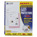 C-LINE PRODUCTS, INC CLI62033 Hvywt Poly Sht Protector, Clear, Top-Loading, 2