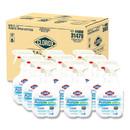 Clorox Healthcare CLO31478 Fuzion Cleaner Disinfectant, Unscented, 32 oz Spray Bottle, 9/Carton