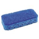 S.O.S. CLO91017 All Surface Scrubber Sponge, 2 1/2 X 4 1/2, 1