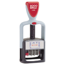 Cosco COS011033 Two-Color Word Dater, 1 3/4 X 1,
