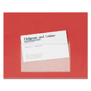 CARDINAL BRANDS INC. CRD21500 Hold It Poly Business Card Pocket, Top Load, 3 3/4 X 2 3/8, Clear, 10/pack