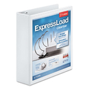 Cardinal CRD49120 Expressload Clearvue Locking D-Ring Binder, 2