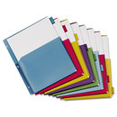 CARDINAL BRANDS INC. CRD84013 Poly Expanding Pocket Index Dividers, 8-Tab, Letter, Multicolor, Per Pack