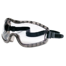 Crews CRW2310AF Stryker Safety Goggles, Chemical Protection, Black Frame