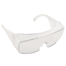 Crews CRW9810 Yukon Safety Glasses, Wraparound, Clear Lens
