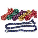 CHAMPION SPORT CSICR8SET Braided Nylon Jump Ropes, 8ft, 6 Assorted-Color Jump Ropes/set