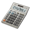 Casio DM-1200BM DM1200BM Desktop Calculator, 12-Digit LCD, Silver