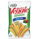 Sensible Portions HFGHG30357 Veggie Straws, Sea Salt, 1 oz Bag, 8 Bags/Carton