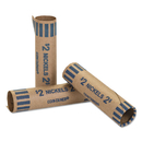 Coin-Tainer CTX20005 Preformed Tubular Coin Wrappers, Nickels, $2, 1000 Wrappers/box