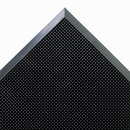 CROWN MATS & MATTING CWNMASR42BK Mat-A-Dor Entrance/scraper Mat, Rubber, 24 X 32, Black