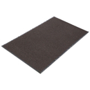 CROWN MATS & MATTING CWNNR0035BR Needle Rib Wipe & Scrape Mat, Polypropylene, 36 X 60, Brown
